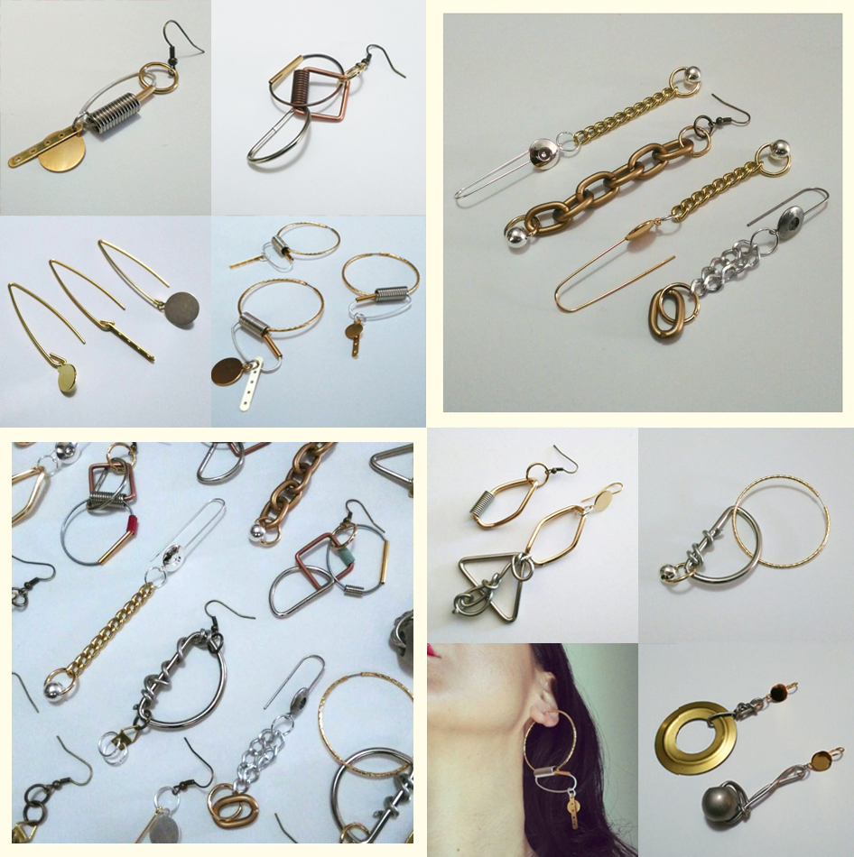 Metallic-Earings
